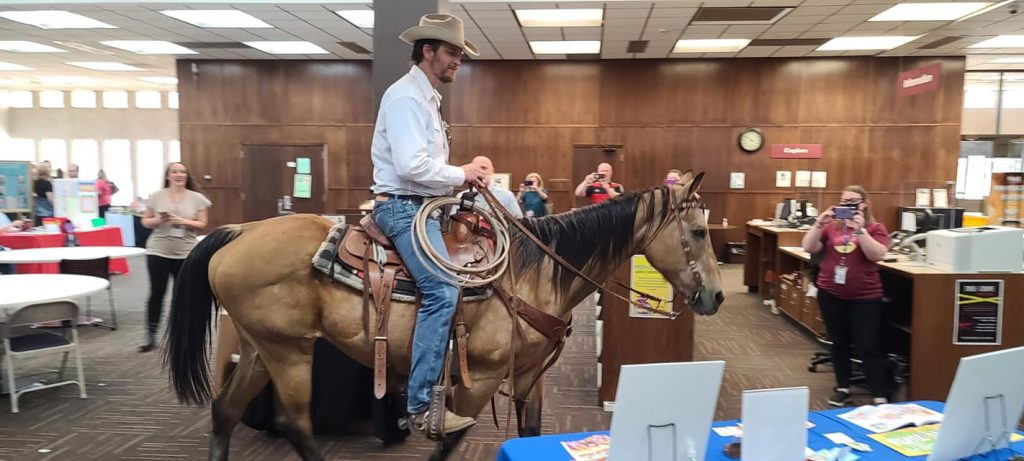 SJ Dalstrom on Horse